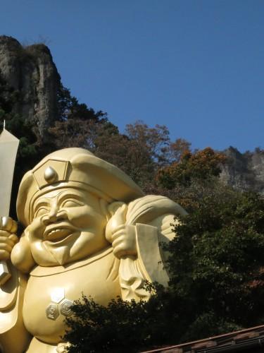 表妙義・中之嶽神社~茨尾根のピーク